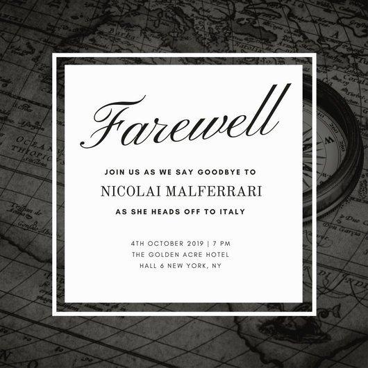 Free Farewell Invitation Template Beautiful Customize 3 999 Farewell Party Invitation Templates