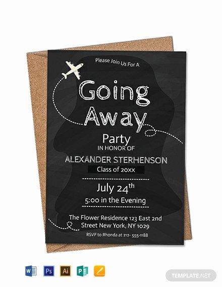 Free Farewell Invitation Template Beautiful Free Printable Going Away Party Invitation Template Word
