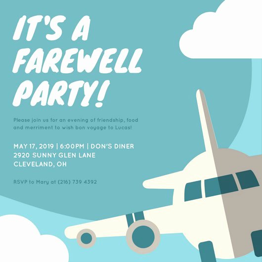 Free Farewell Invitation Template Best Of 22 Farewell Invitation for Coworker This Cheerful