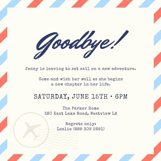 Free Farewell Invitation Template Best Of Party Farewell Party Invitation as Your Ideas Amplifyer