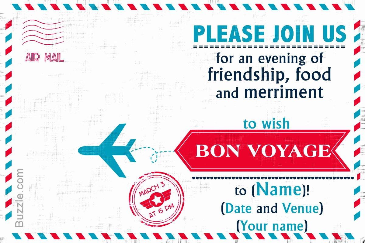 Free Farewell Invitation Template Elegant 10 Farewell Party Invitation Wordings to Bid Goodbye In Style