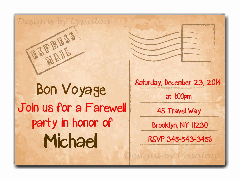 Free Farewell Invitation Template Inspirational Farewell Dinner Invitation Wording