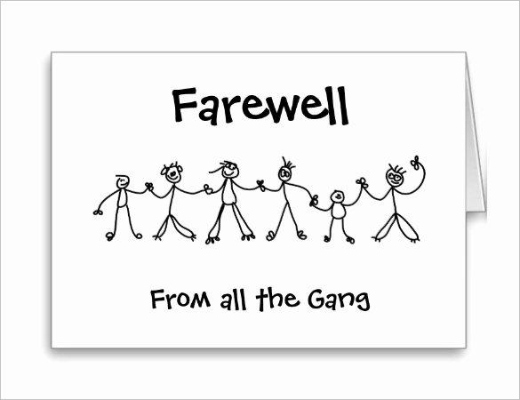Free Farewell Invitation Template Luxury 16 Farewell Card Template Word Pdf Psd Eps