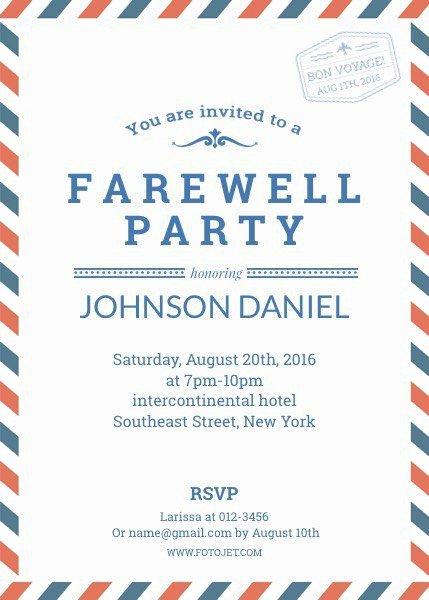 Free Farewell Invitation Template Unique Pin by Jessica Ncube On Farewell Invitè