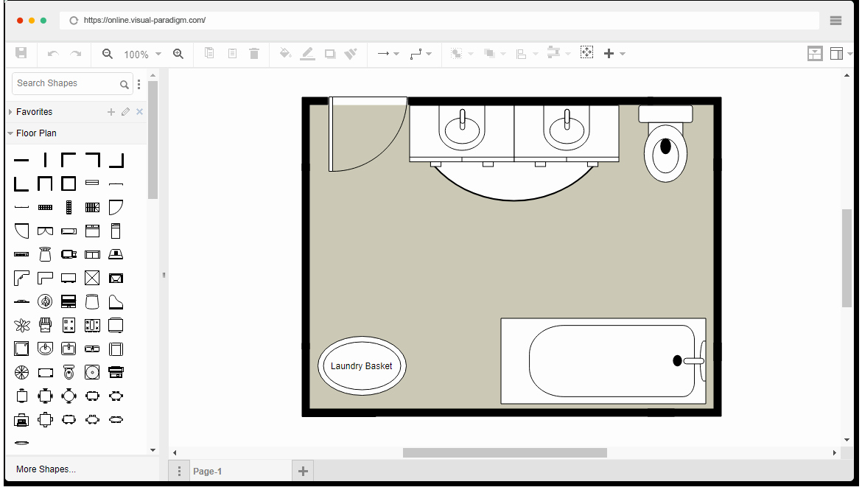 Free Floor Plan Template Fresh Free Bathroom Floor Plan Template