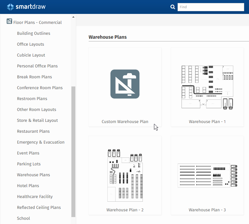 Free Floor Plan Template Fresh Warehouse Layout Design software Free Download