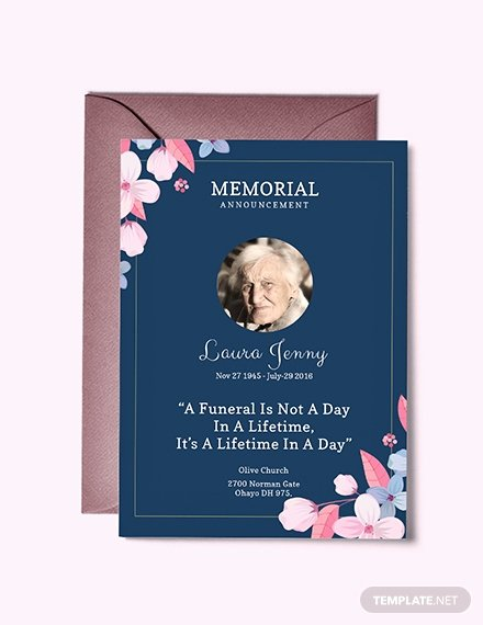Free Funeral Invitation Template Awesome Free Funeral Service Invitation Template Download 518