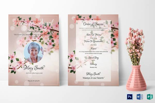Free Funeral Invitation Template Awesome Our Favorite Actually Free Funeral Program Templates