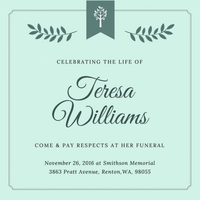 Free Funeral Invitation Template Inspirational Cool Free Memorial Invitation Templates Idea Mericahotel