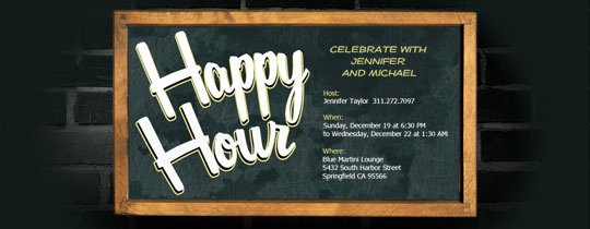 Free Happy Hour Invitation Template Beautiful Happy Hour Free Online Invitations