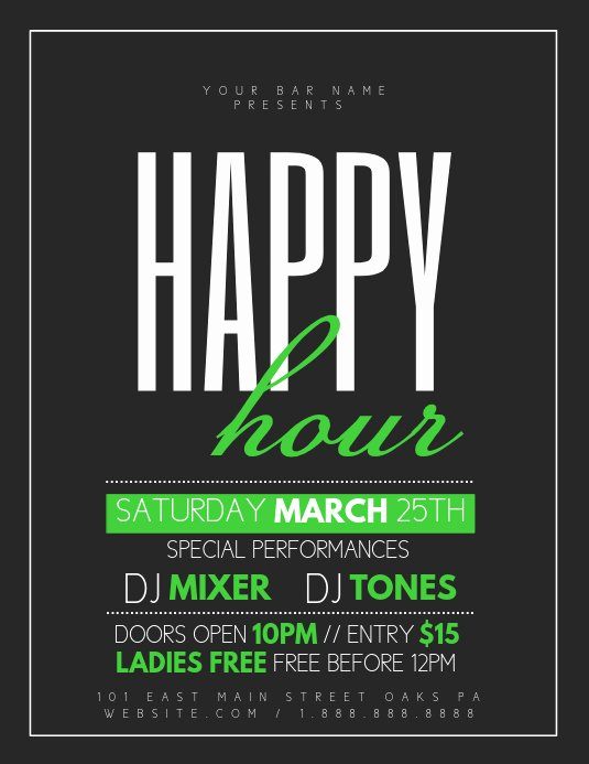 Free Happy Hour Invitation Template Inspirational Copy Of Happy Hour