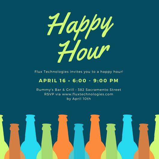 Free Happy Hour Invitation Template Inspirational Customize 242 Happy Hour Invitation Templates Online Canva