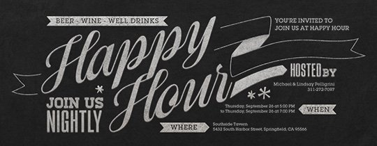 Free Happy Hour Invitation Template Inspirational Free Happy Hour Line Invitations Evite