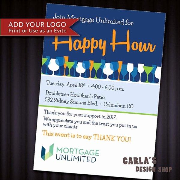 Free Happy Hour Invitation Template Luxury 14 Happy Hour Invitation Designs & Templates Psd Ai
