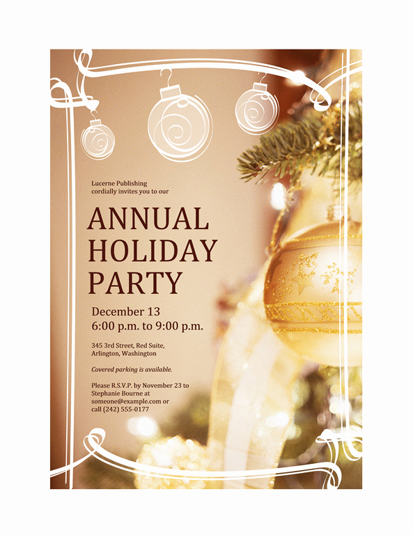 Free Holiday Party Invitation Template Best Of Free Other Design File Page 5 Newdesignfile