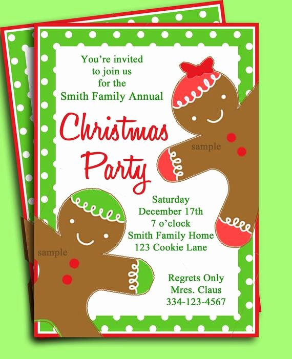 Free Holiday Party Invitation Template Best Of Items Similar to Christmas Party Invitation Printable
