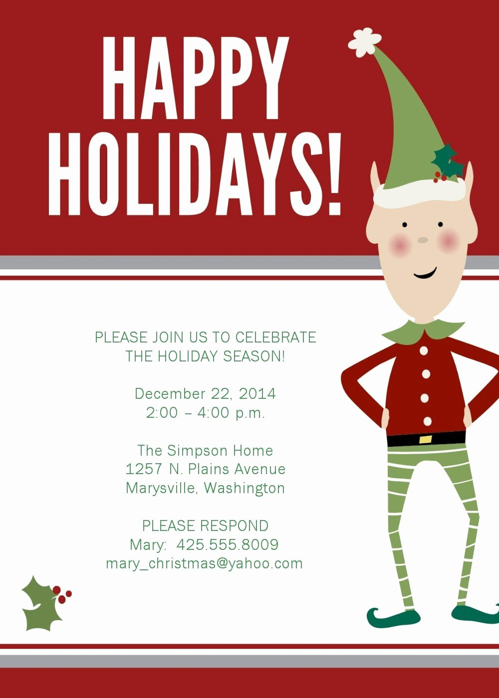 Free Holiday Party Invitation Template Unique Free Printable 50th Birthday Party Invitation Templates