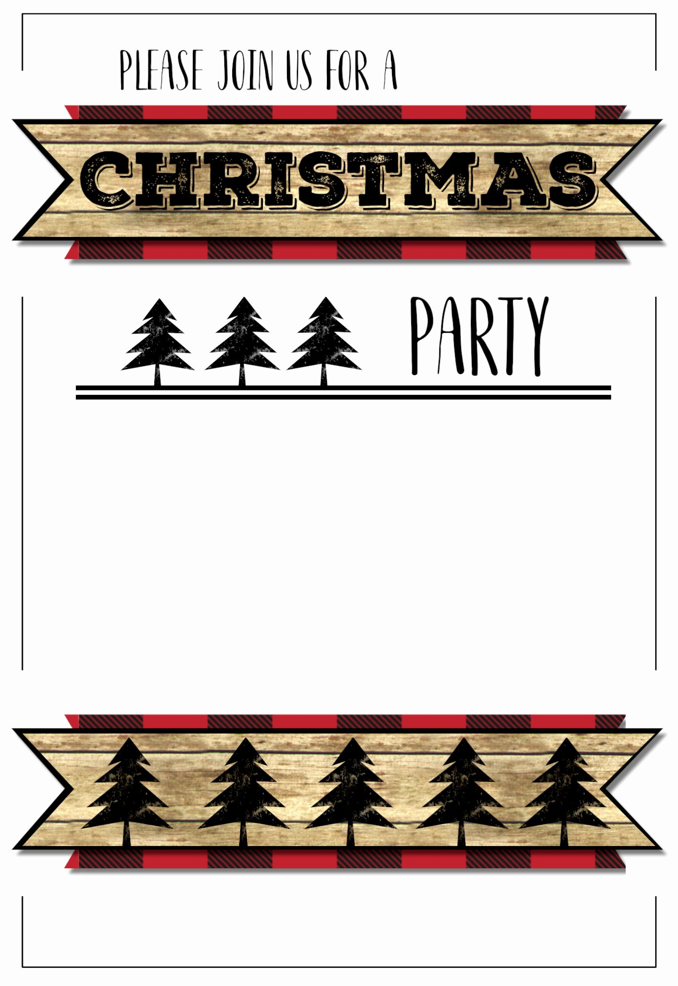 Free Holiday Party Template Lovely Christmas Party Invitation Templates Free Printable
