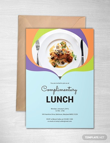 Free Lunch Invitation Template Best Of 10 Free Invitation Lunch Templates