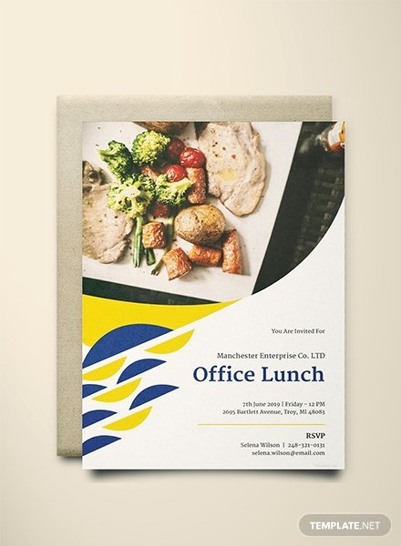 Free Lunch Invitation Template Best Of Free Fice Lunch Invitation Template Download 344