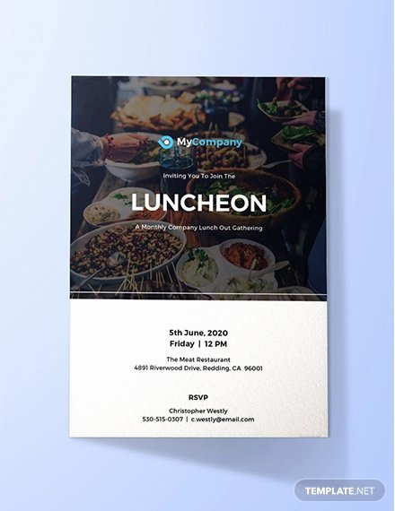 Free Lunch Invitation Template Elegant 10 Free Invitation Lunch Templates