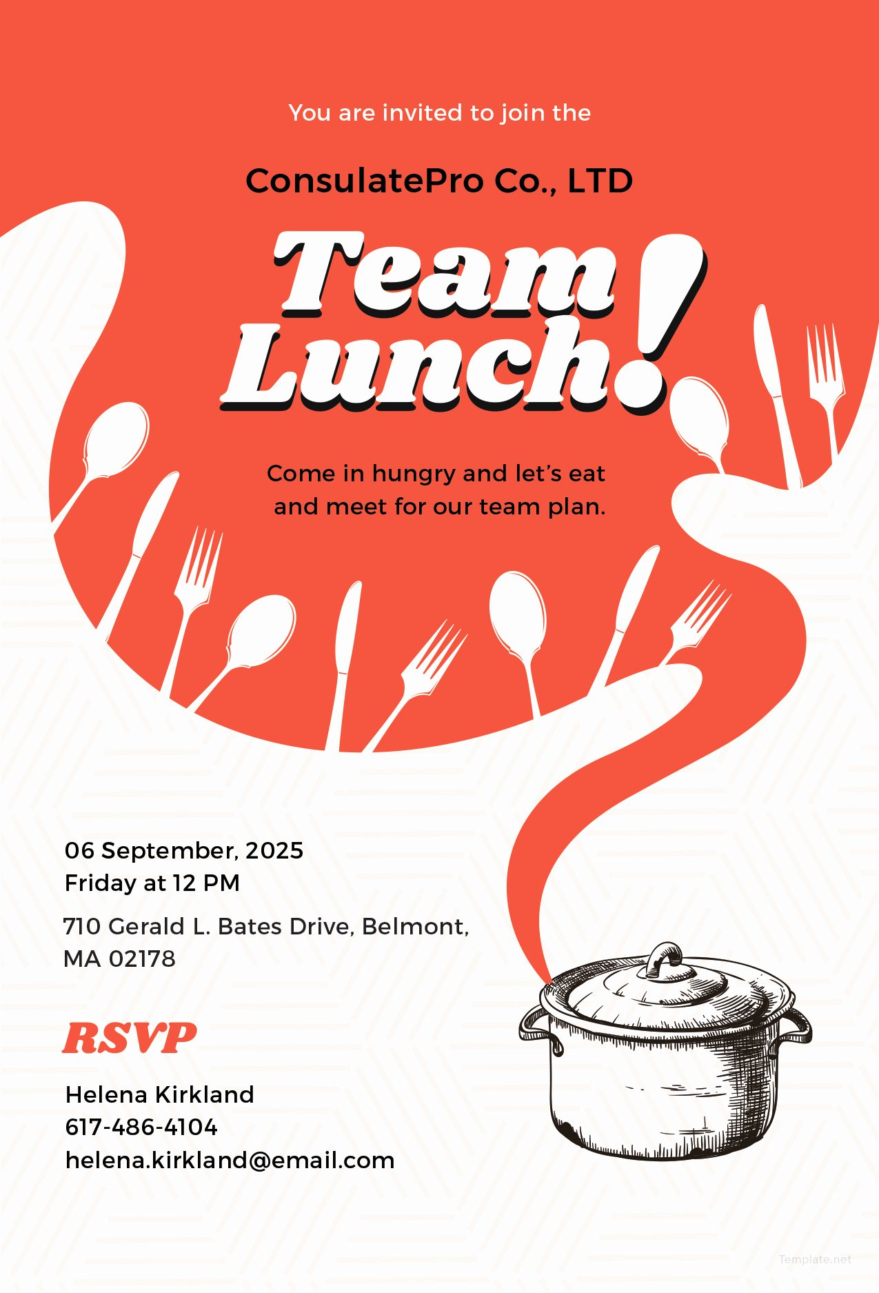 Free Lunch Invitation Template Unique Lunch Invitation Template – Emmamcintyrephotography