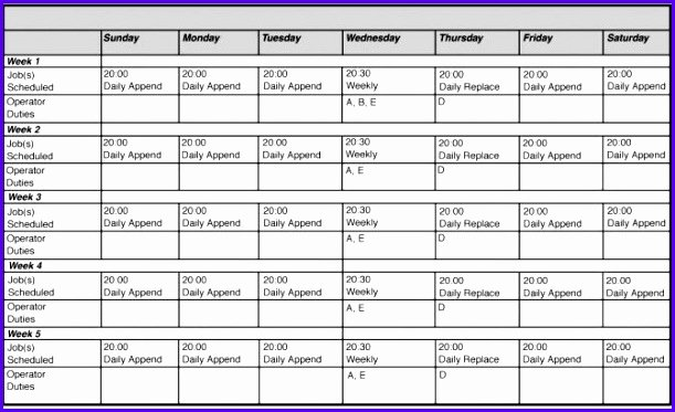 Free Monthly Employee Schedule Template Lovely 14 Free Excel Employee Schedule Template Exceltemplates