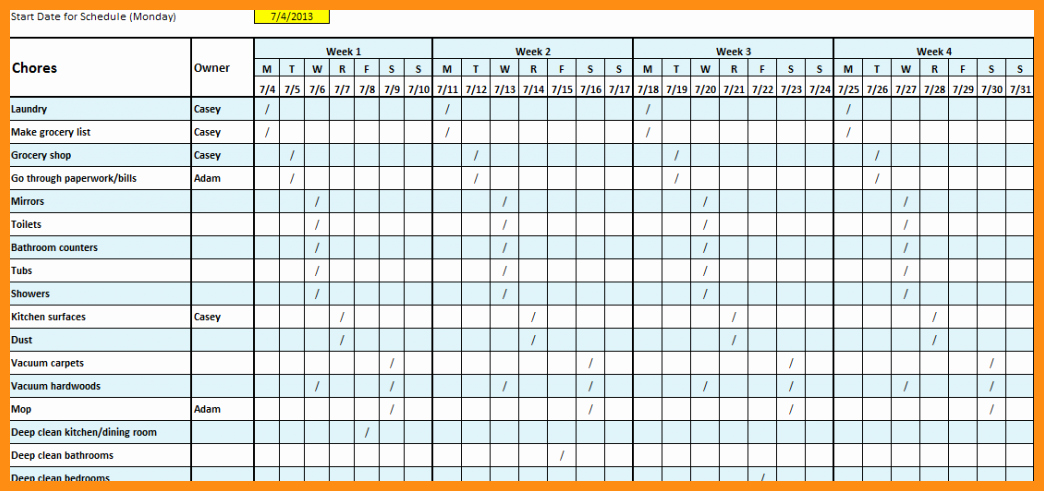 Free Monthly Employee Schedule Template New Monthly Employee Schedule Template
