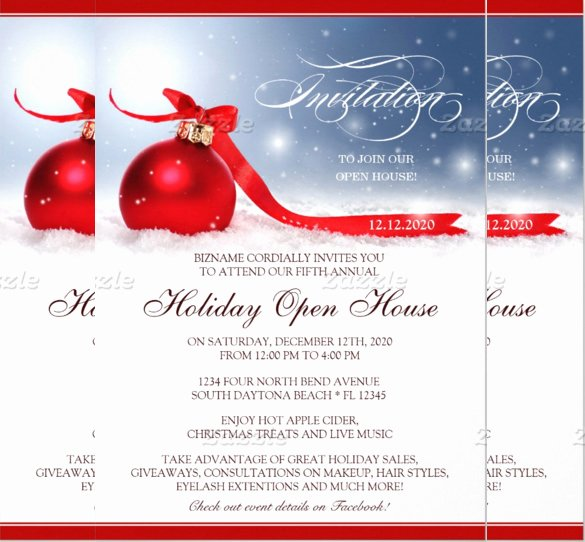 Free Open House Invitation Template Beautiful 25 Open House Invitation Templates Free Sample Example