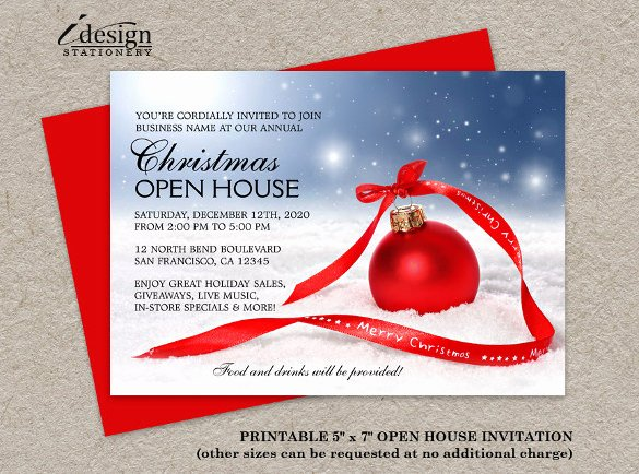Free Open House Invitation Template Beautiful 31 Business Invitation Templates Psd Word Ai
