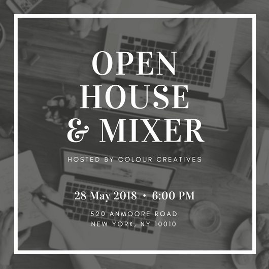 Free Open House Invitation Template Beautiful Open House Invitation Templates Canva