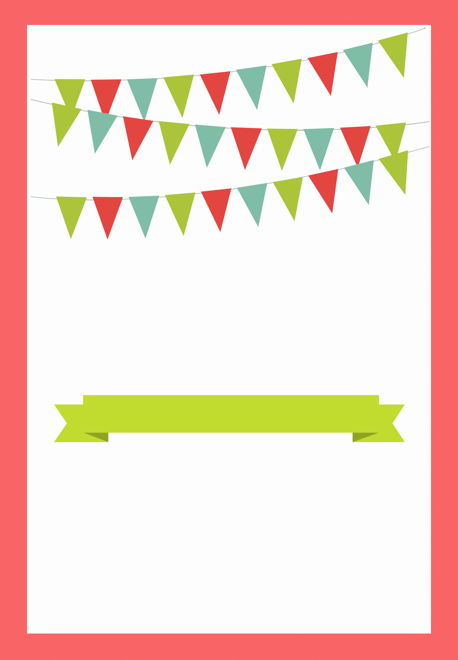Free Party Invitation Template Word Beautiful Red Pennants Free Printable Bbq Party Invitation