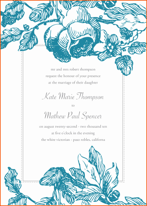Free Party Invitation Template Word Elegant 8 Microsoft Word Invitation Templates Bookletemplate