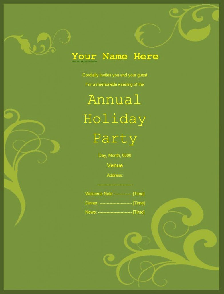 Free Party Invitation Template Word Fresh 10 Party Invitation Templates