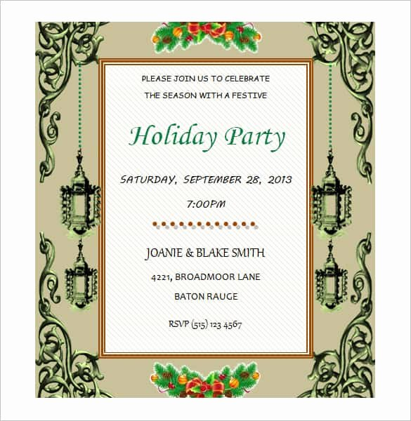 Free Party Invitation Template Word Luxury 69 Microsoft Invitation Templates Word