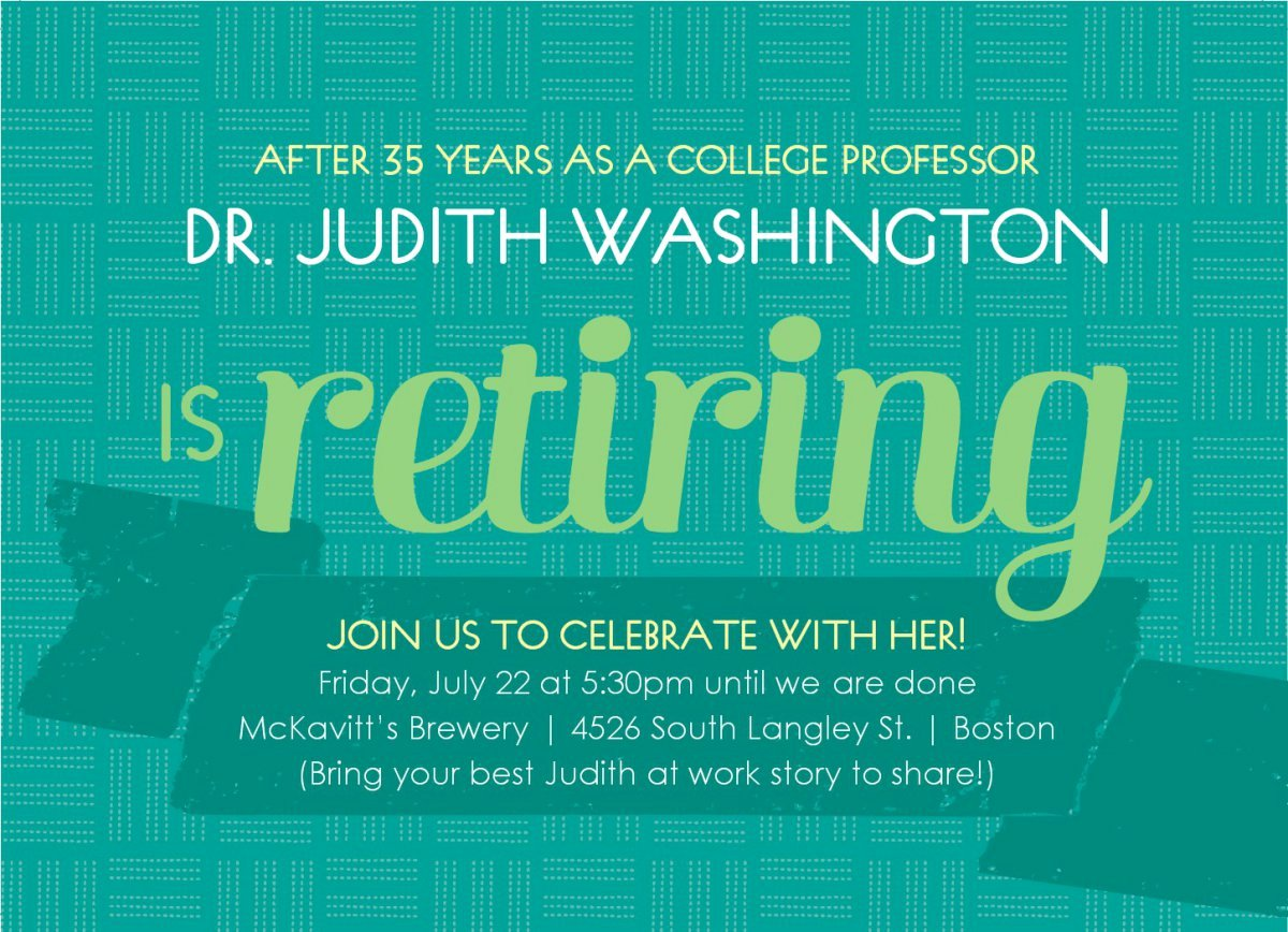 Free Retirement Party Program Template Awesome Printable Retirement Invitations Free