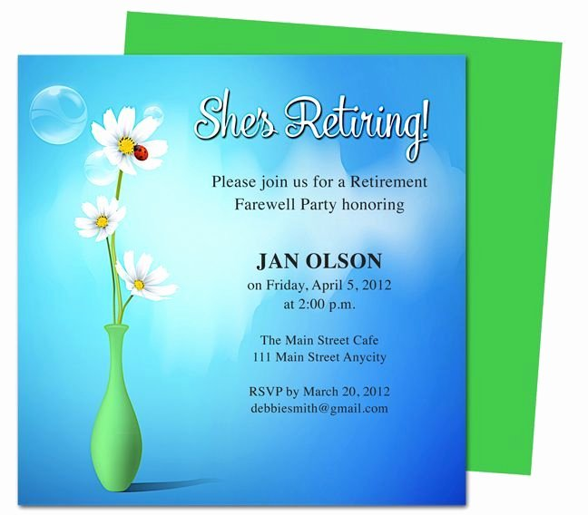 Free Retirement Party Program Template Beautiful Retirement Template Free Free Retirement Flyer Template