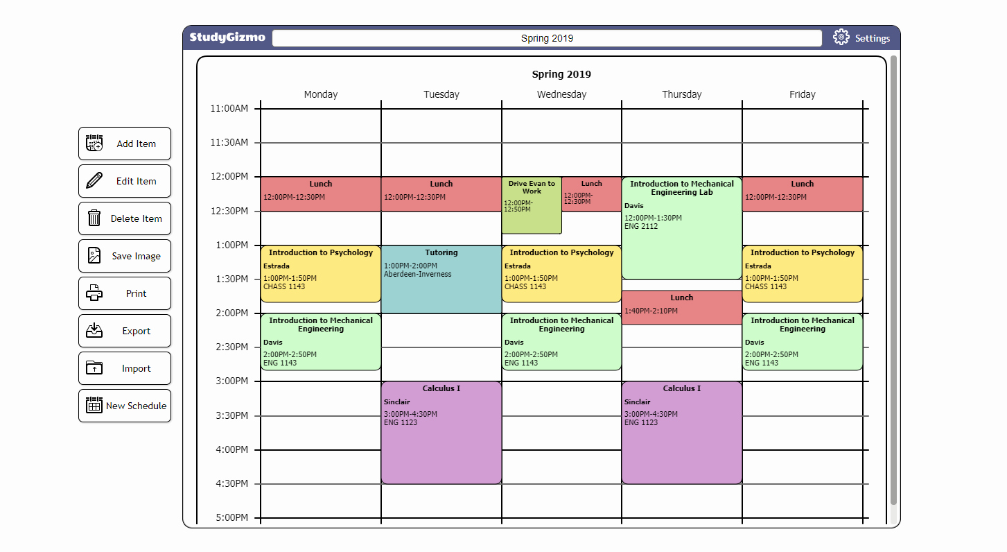 Free School Master Schedule Template Beautiful Workout Schedule Maker