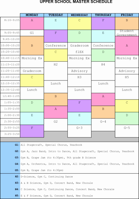 Free School Master Schedule Template Fresh Download Master Schedule Templates for Free formtemplate