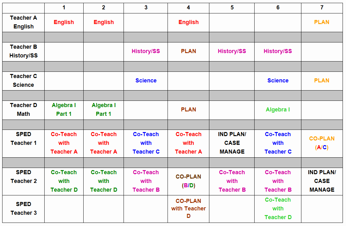 Free School Master Schedule Template New W&m School Of Education