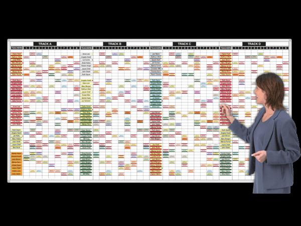 Free School Master Schedule Template New Yearround™ Teacher Track Schedules
