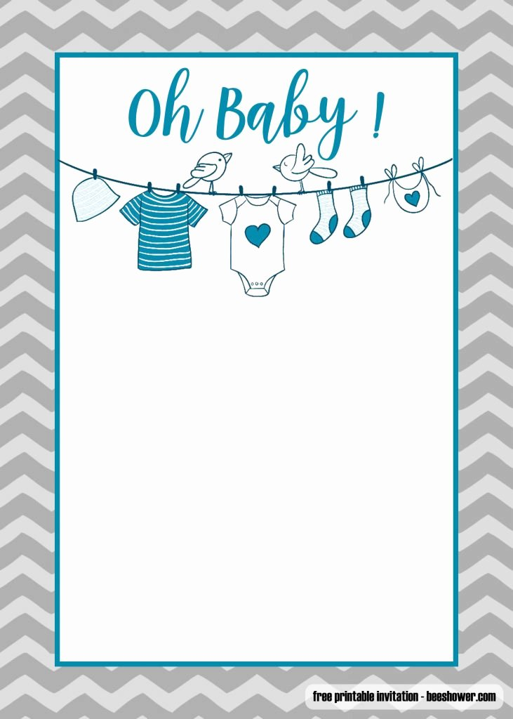 Free Shower Invitation Template Awesome Free Printable Esie Baby Shower Invitations Templates