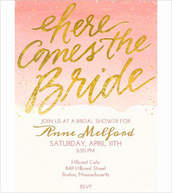 Free Shower Invitation Template Best Of Wedding Invitation Template 71 Free Printable Word Pdf