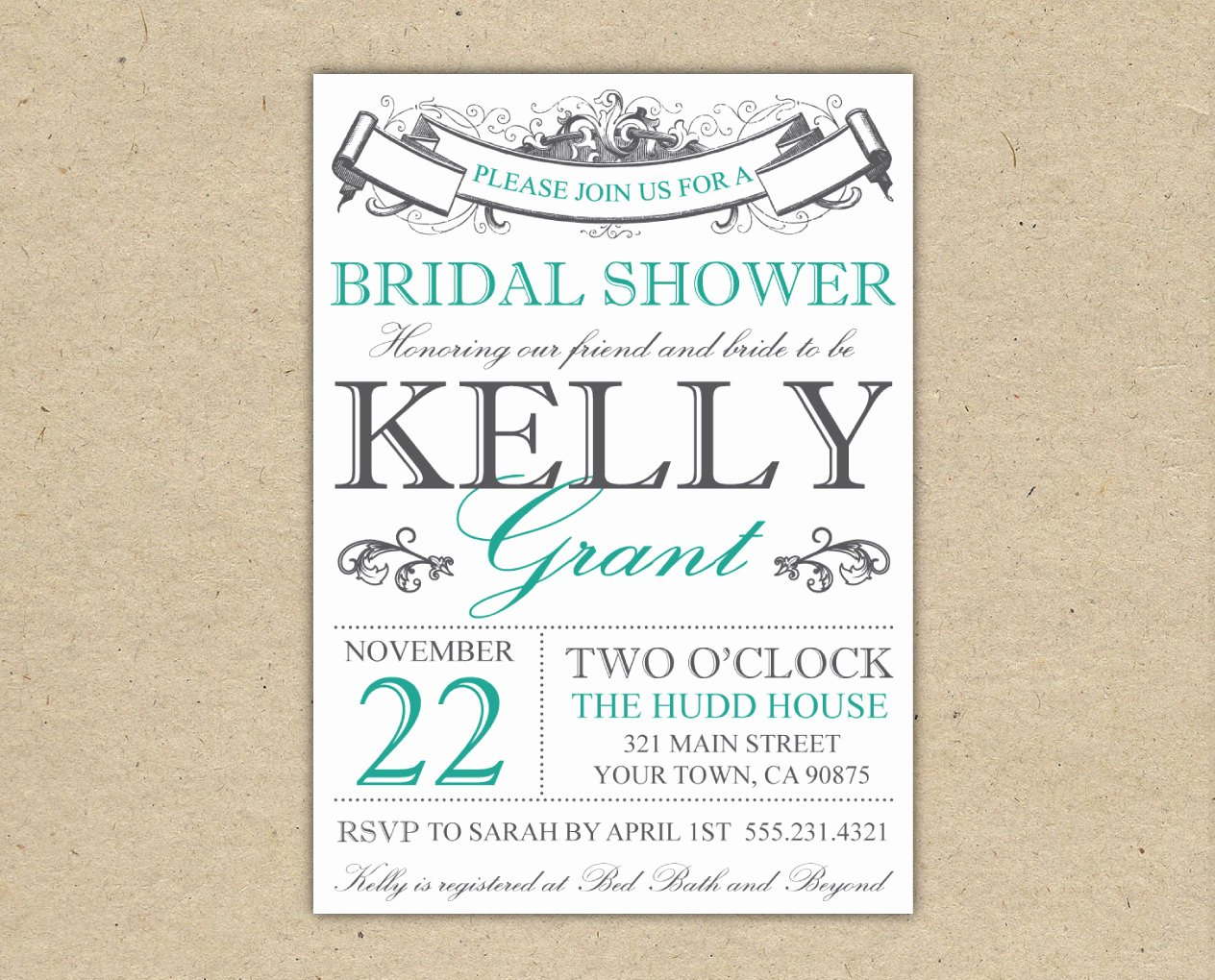 Free Shower Invitation Template Lovely Bridal Shower Invitation Templates