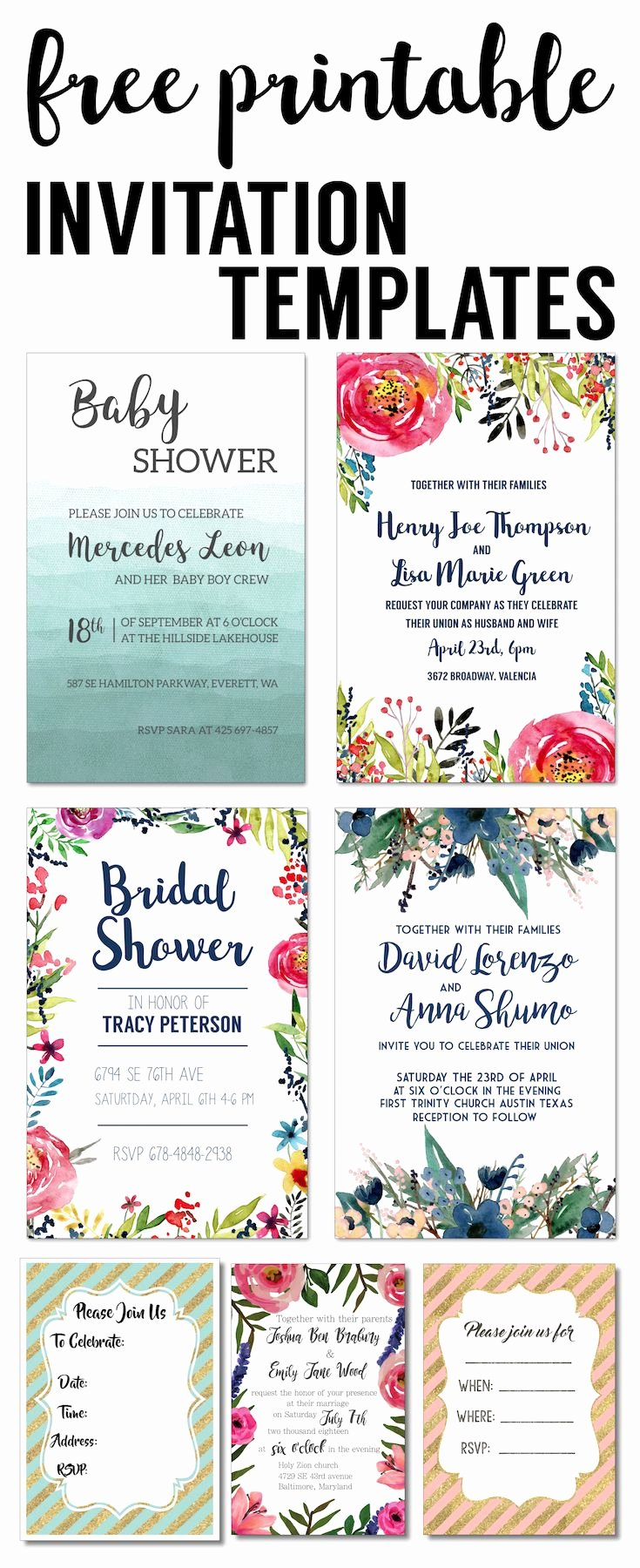 Free Shower Invitation Template Luxury Party Invitation Templates Free Printables Diy