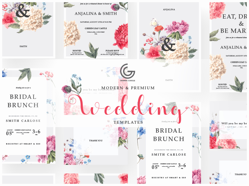 Free Wedding Invitation Template New Free Modern Wedding Invitation Templates by Graphic Google