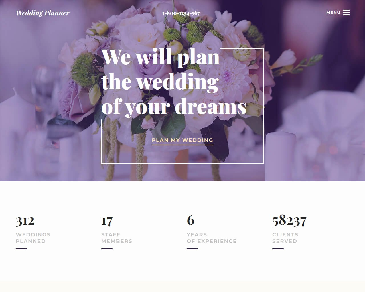 Free Wedding Plan Template Elegant 20 Best Wedding Website Templates for Your Special Day