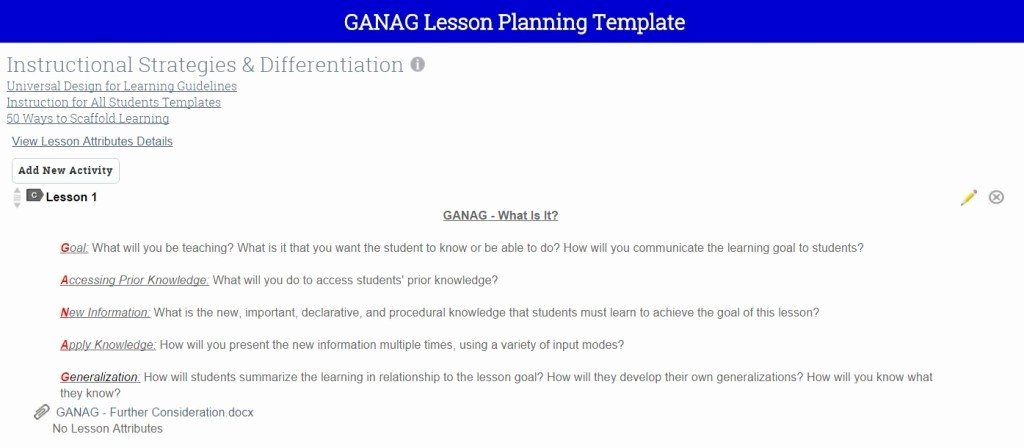 Ganag Lesson Plan Template Luxury Cte How We Used Employer Surveys to Drive Curriculum