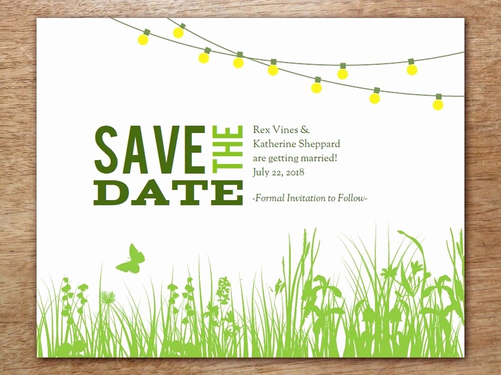 Garden Party Invitation Template Best Of Printable Save the Date Garden Party