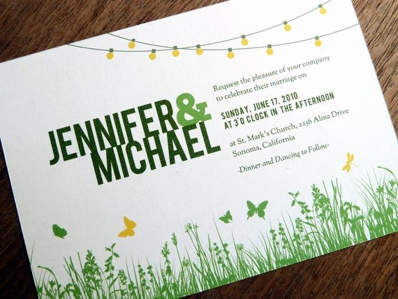Garden Party Invitation Template Best Of Printable Wedding Invitations Garden Party String Lights